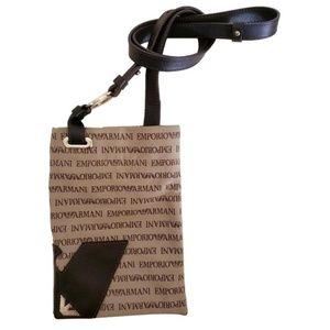 Emporio Armani Brown Crossbody Bag